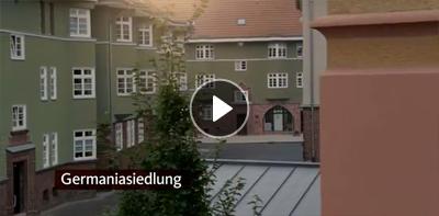 GAG Köln: Startbild für das Video zur Germaniasiedlung