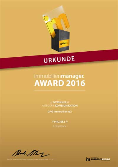 16_Award_Urkunde_2016_Immobilienmanager_Kommunikation_400px