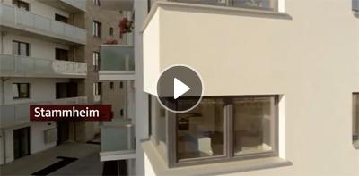 GAG Köln: Startbild für das Video zur Siedlung Stammheim