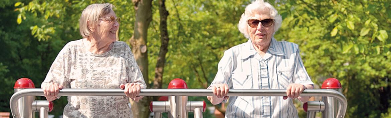 Fitnessplätze für Senioren