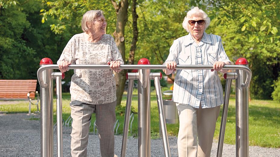 fitnesspl tze f r senioren gag immobilien ag. Black Bedroom Furniture Sets. Home Design Ideas