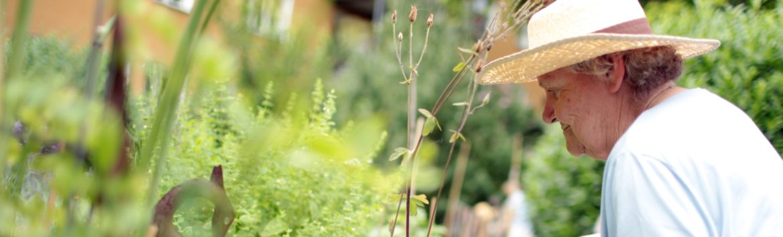 Gartenprogramm mit Demenz-WG
