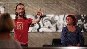 GAG Immobilien Köln Musik! Musik! Und Tanzeinblicke! mit Kabelsalat, Michael Walter und Gitta Roser und Marc Stuhlmann Kulturkirche Köln Buchforst