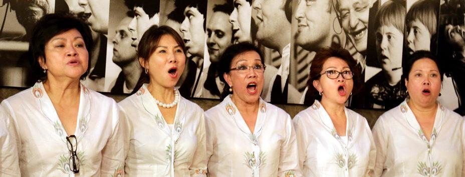 Chorkonzert als Schlussakkord