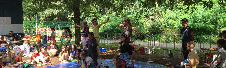 Zirkus in den Merheimer Gärten