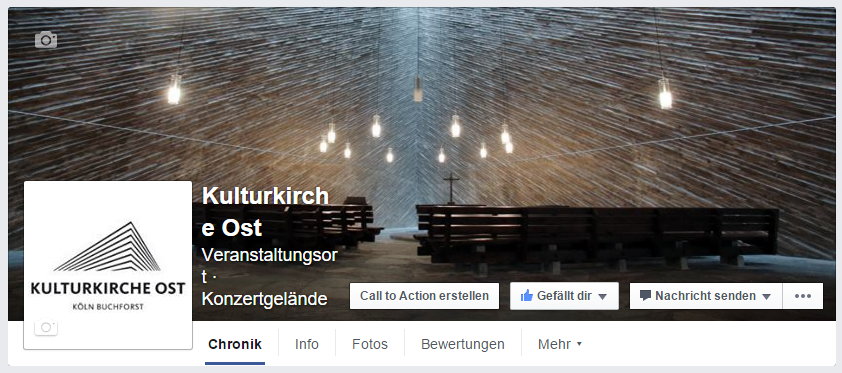 Kulturkirche Ost GAG Facebook