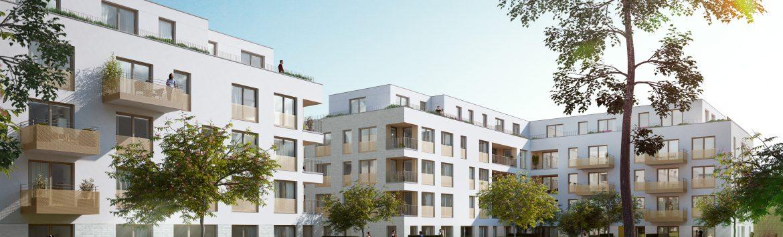 Neue Wohnungen auf dem Clouth-Gelände