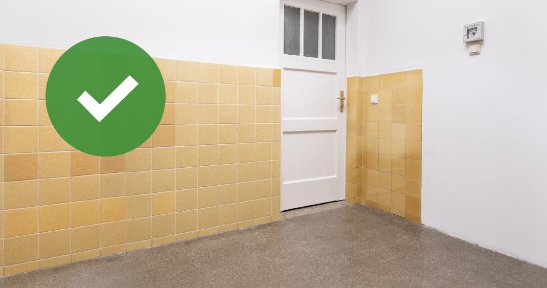 flur frei, brandschutzinitiative der GAG, gag immobilien ag, brandlasten im treppenhaus, sicheres Treppenhaus, hausflur