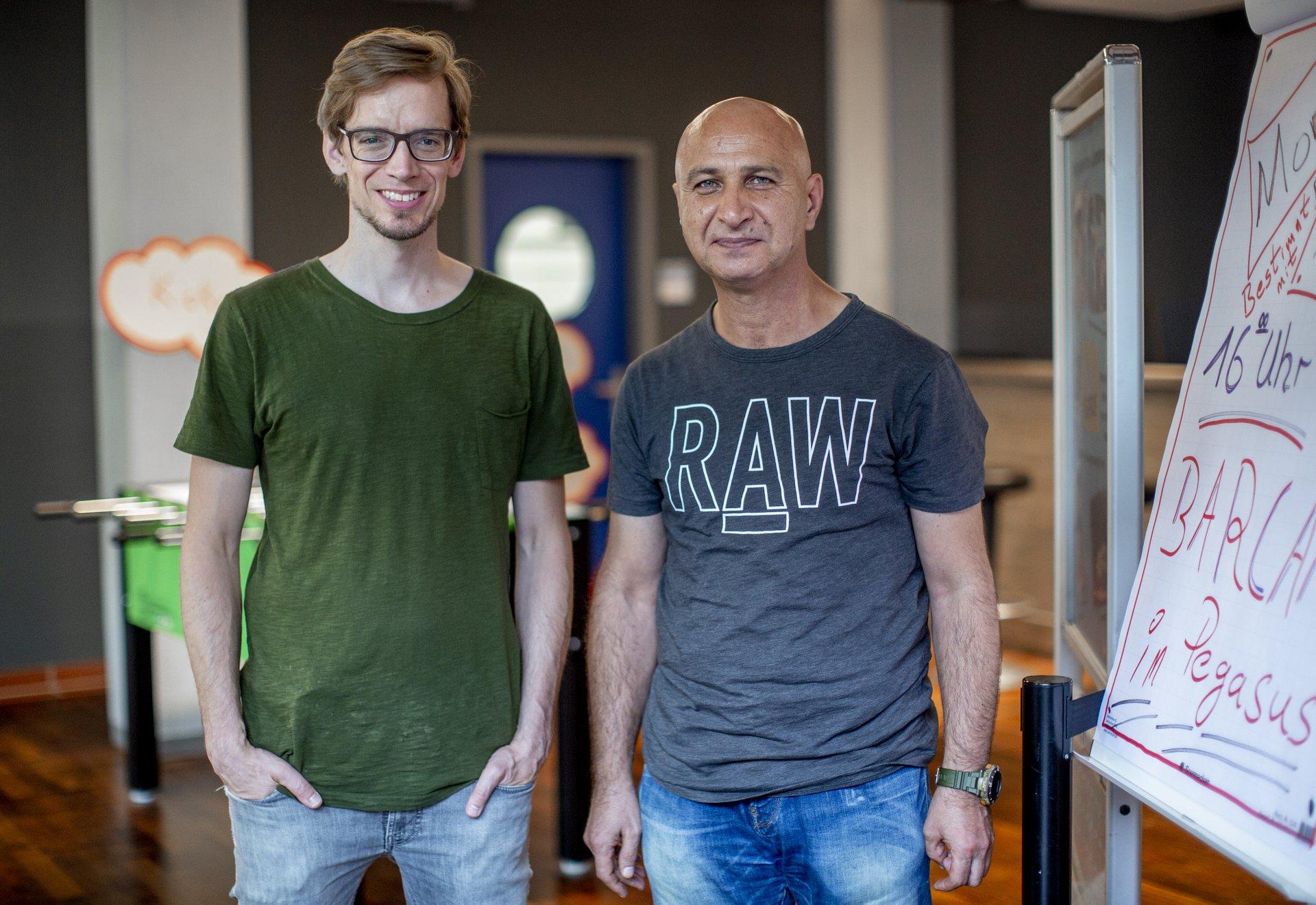 Thomas Gruner Hilmi Sagdic Chorweiler Mietermagazin GAG Köln