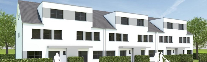 Neue Einfamilienhäuser in Merkenich
