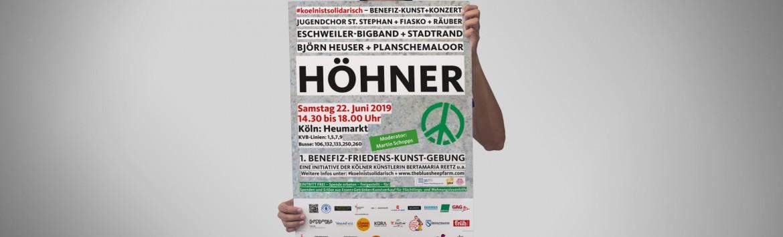 GAG unterstützt Benefiz-Friedens-Kunst-Gebung