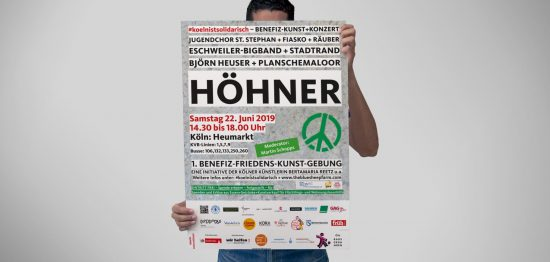 koelnistsolidarisch Pressekonferenz Benefiz Köln GAG Höhner Krautmacher Dumont