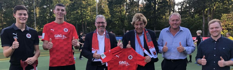 """GAG bleibt """"Partner der Jugend"""" von Viktoria Köln"""